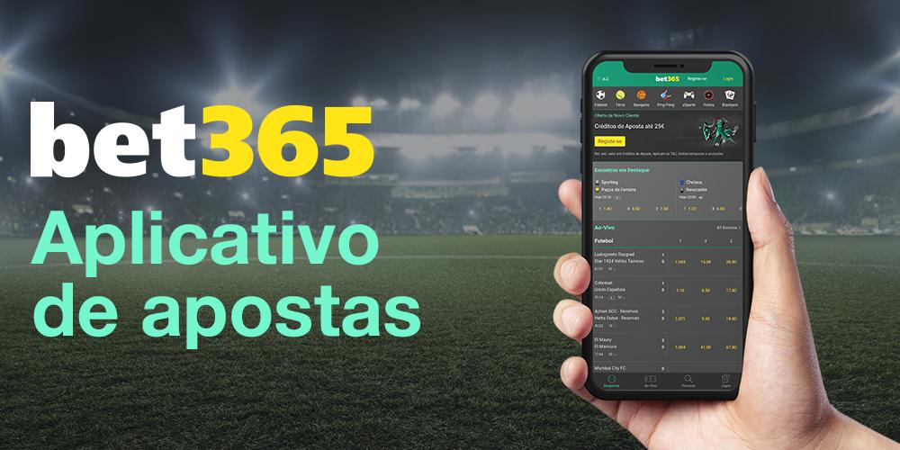 Aplicativo de apostas bet365